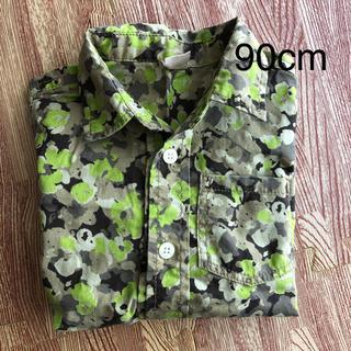 プティマイン(petit main)のpetit main 半袖シャツ 90(Tシャツ/カットソー)