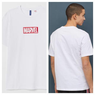 エイチアンドエム(H&M)の【H&M】新作&新品 ☑️ MARVEL Tシャツ Lサイズ(Tシャツ/カットソー(半袖/袖なし))