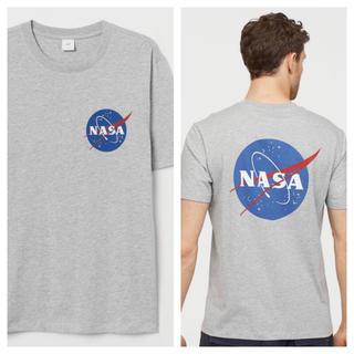 エイチアンドエム(H&M)の【H&M】新作&新品  HERON モデル ☑️ NASA Tシャツ Lサイズ(Tシャツ/カットソー(半袖/袖なし))