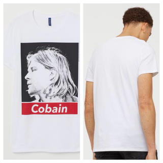 エイチアンドエム(H&M)の【H&M】新作&新品 ☑️ NIRVANA Tシャツ Lサイズ(Tシャツ/カットソー(半袖/袖なし))