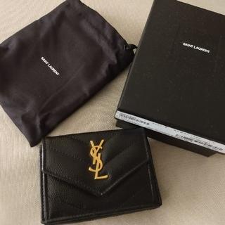 サンローラン(Saint Laurent)の2019年9月購入★本物サンローラン財布黒購入したばかり(財布)