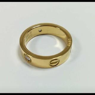 Cartier - ビス リング トラベルジュエリー イエローゴールドカラー