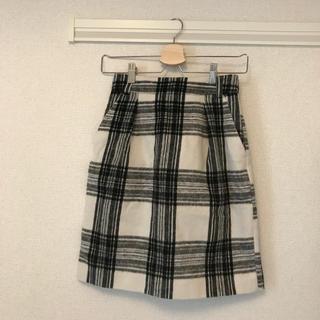ローリーズファーム(LOWRYS FARM)のシャギータイトスカート(ミニスカート)