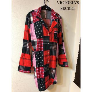 ヴィクトリアズシークレット(Victoria's Secret)のヴィクトリア シークレット パジャマ ルームウェア ネグリジェ ガウン チェック(ルームウェア)