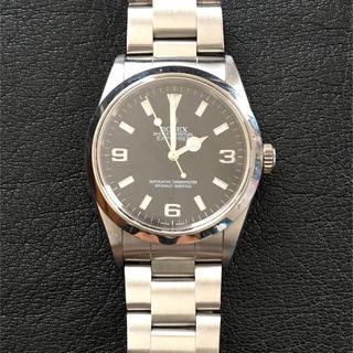 ロレックス(ROLEX)のロレックス エクスプローラ1  美品裏蓋シール付き14270(腕時計(アナログ))
