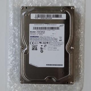 SAMSUNG - 3.5インチHDD 1.5TB(中古)
