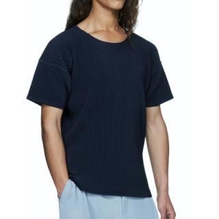 プリーツプリーズイッセイミヤケ(PLEATS PLEASE ISSEY MIYAKE)のissey miyake homme plisse Tシャツ(Tシャツ/カットソー(七分/長袖))