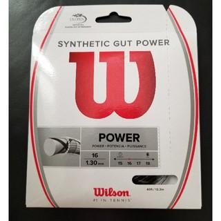 ウィルソン(wilson)のウィルソン ガット  SYNTHETIC GUT POWER(ラケット)