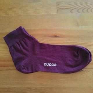 ズッカ(ZUCCa)のzucca ボルドー ソックス(ソックス)