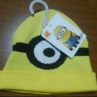 ミニオン(ミニオン)のミニオン ニット帽 50㎝(帽子)