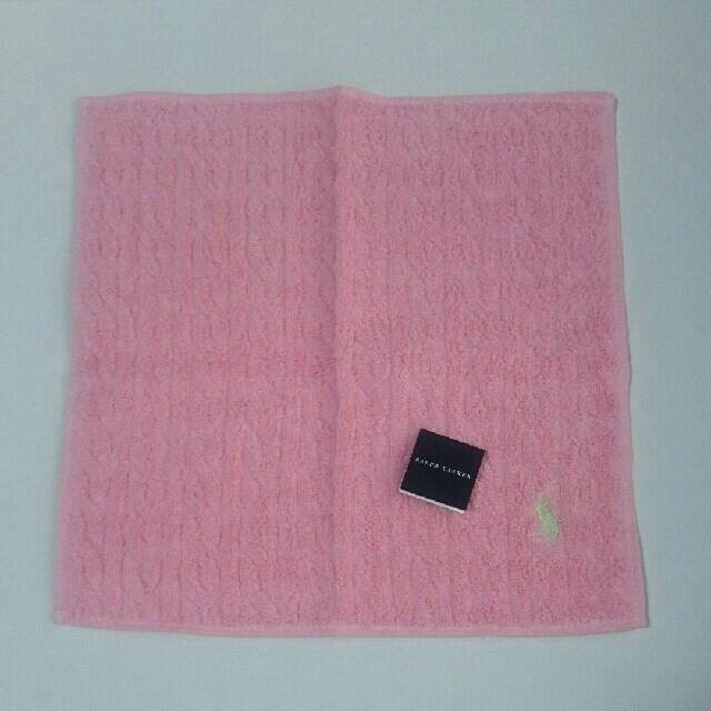 Ralph Lauren(ラルフローレン)のラルフローレン タオルハンカチ レディースのファッション小物(ハンカチ)の商品写真