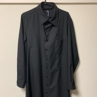 ヨウジヤマモト(Yohji Yamamoto)のGround Y  ロングシャツ  yohji yamamoto ヨウジヤマモト(シャツ)