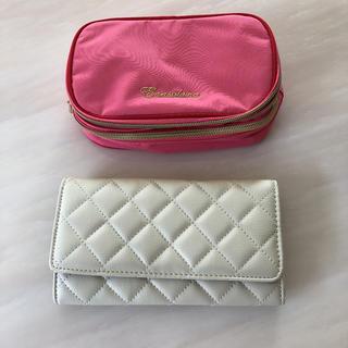 エナソルーナ(Enasoluna)のラバガジェリーの長財布とエナソルーナのポーチ(財布)