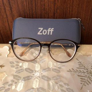 ゾフ(Zoff)の  ZOFF ゾフ 丸眼鏡  ラウンド 度付き (サングラス/メガネ)