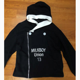 MILKBOY - MILKBOY * UNION13パーカー 缶バッチ付き