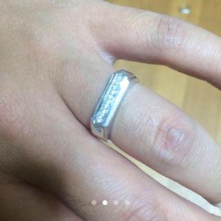 アヴァランチ(AVALANCHE)のAVALANCHE / ホワイトゴールド ペア(リング(指輪))