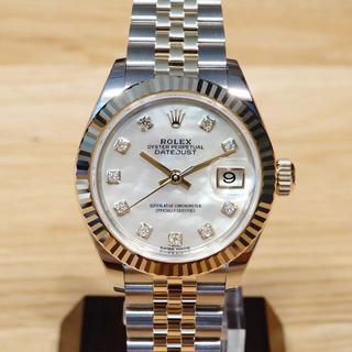 ロレックス(ROLEX)のあっちゃん様の新品同様 ロレックス 新型 デイトジャスト 28 279173NG(腕時計)