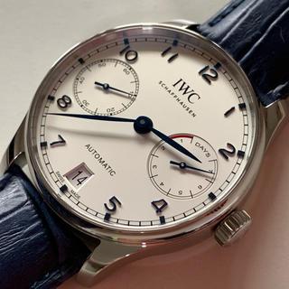 インターナショナルウォッチカンパニー(IWC)のIWC ポルトギーゼ オートマチック 7days IW500705(腕時計(アナログ))