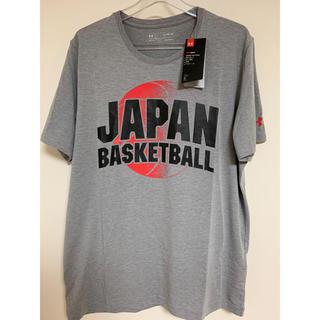 アンダーアーマー(UNDER ARMOUR)の【新品未使用】バスケ 日本代表 JAPAN Tシャツ(XL)(バスケットボール)