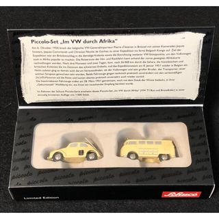 フォルクスワーゲン(Volkswagen)の【 未使用 】 シュコー  フォルクスワーゲン  ビートル & バス 2台セット(ミニカー)