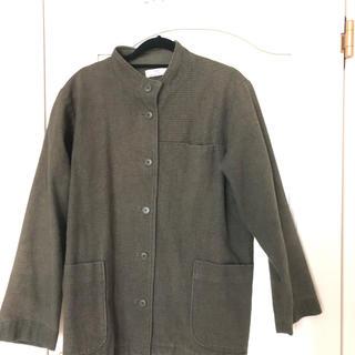 アップルハウス ジャケット 秋冬物 コートがわりにも 男女兼用 LL(ブルゾン)