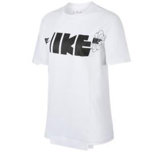 サカイ(sacai)のM nike sacai ハイブリッド Tee Tシャツ 白(Tシャツ(半袖/袖なし))