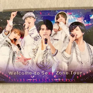 セクシー ゾーン(Sexy Zone)の【初回限定盤】Welcome to Sexy Zone Tour Blu-ray(アイドル)