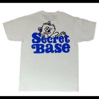 シークレットベース(SECRETBASE)のVERDY DESIGN SECRETBASE Tシャツ  XL 白(Tシャツ/カットソー(半袖/袖なし))