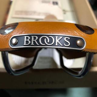 ブルックス(Brooks)のブルックス キャメル色傷あり大鋲サドル BROOKS(パーツ)