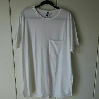 エイチアンドエム(H&M)のH&M エイチアンドエム 胸ポケット Tシャツ L(Tシャツ/カットソー(半袖/袖なし))