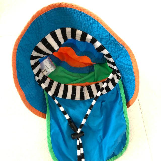 ampersand(アンパサンド)のアンパサンド メッシュ 帽子 52cm キッズ/ベビー/マタニティのこども用ファッション小物(帽子)の商品写真