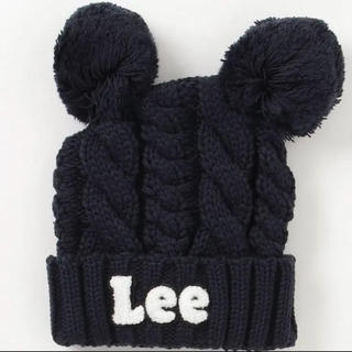 リー(Lee)の【 新品 未使用 】 Lee リー 帽子 ニット帽 ケーブルニット帽(帽子)
