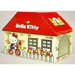 ハローキティ(ハローキティ)のキティちゃん段ボール猫ハウス(猫)