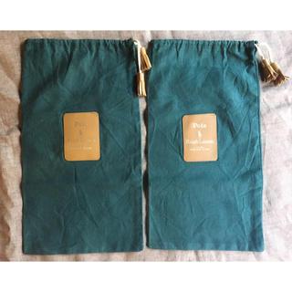 ポロラルフローレン(POLO RALPH LAUREN)のラルフローレン ノベルティ シューズ袋 2枚セット(その他)