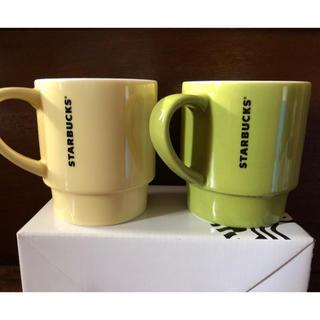 Starbucks Coffee - スターバックス  スタッキングマグセット