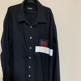 RAF SIMONS - RAF SIMONS パッチシャツ