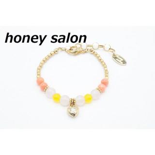 ハニーサロン(Honey Salon)の【R-170】ハニーサロン プチ ハート ストーン ブレスレット(ブレスレット/バングル)