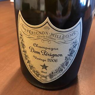 ドンペリニヨン(Dom Pérignon)のドンペリ ドン・ペリニヨン DOM PERIGNON ヴィンテージ 2006(シャンパン/スパークリングワイン)