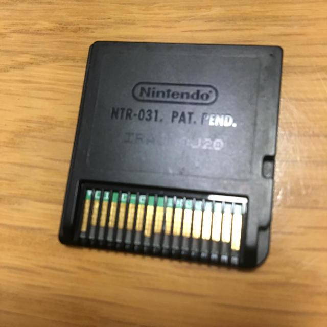 ニンテンドーDS(ニンテンドーDS)のDS ポケットモンスター ホワイト エンタメ/ホビーのゲームソフト/ゲーム機本体(携帯用ゲームソフト)の商品写真