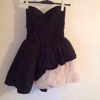 リリーブラウン(Lily Brown)のリリーブラウン 黒 ドレス(ミニワンピース)