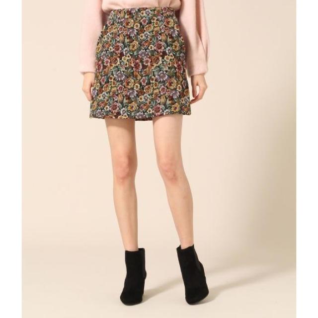 LOWRYS FARM(ローリーズファーム)のJQアソートガラミニスカート レディースのスカート(ミニスカート)の商品写真