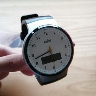 ブラウン(BRAUN)のBRAUN腕時計 MULTIFUNTION GENT BN0159WHBKG(腕時計(アナログ))