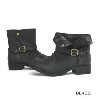 B.C.COMPANY防水2way ショート 黒 S(22.5~23cm)(ブーツ)