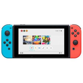 ニンテンドースイッチ(Nintendo Switch)の新品 ニンテンドースウィッチ Nintendo Switch(家庭用ゲーム機本体)