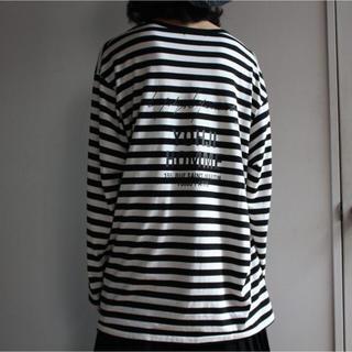 ヨウジヤマモト(Yohji Yamamoto)のYohji Yamamoto スタッフボーダーTシャツ 18ss(Tシャツ/カットソー(七分/長袖))