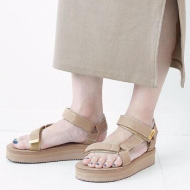 DEUXIEME CLASSE(ドゥーズィエムクラス)のSUICOKE SUEDE SANDAL  Deuxieme Classe レディースの靴/シューズ(サンダル)の商品写真