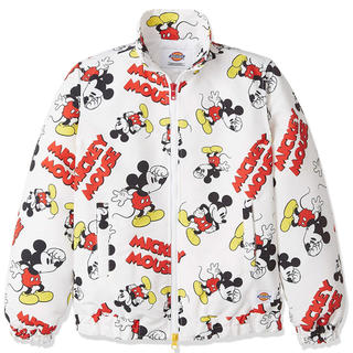 ディッキーズ(Dickies)の売切 激レア Dickies × Mickey Mouse 総柄 中綿ジャケット(ダウンジャケット)