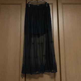 イーハイフンワールドギャラリー(E hyphen world gallery)のシースルースカート(ロングスカート)