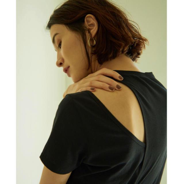 Ameri VINTAGE(アメリヴィンテージ)のリトルスージー  アシンメトリーレイヤードトップス レディースのトップス(Tシャツ(半袖/袖なし))の商品写真