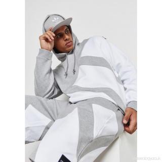 アディダス(adidas)のadidas EQT Hoodie Gray/White パーカー(パーカー)